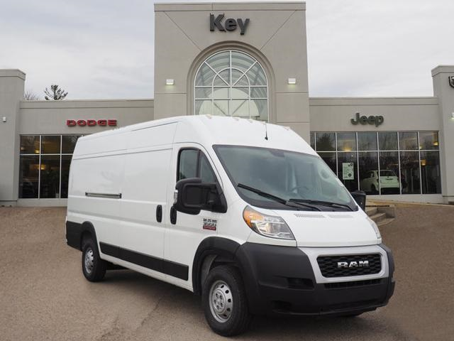 Dodge Ram Promaster >> New 2019 Ram Promaster 3500 Cargo Van High Roof 159 Wb Ext
